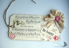 Be Happy Tag by vanessa.1978