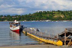 Teluk Nare, Pelabuhan penyeberangan menuju Gili Trawangan Pulau Lombok