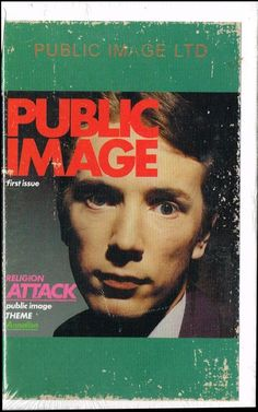 Public Image Ltd. - First Issue - Cassette Burger Records Image Theme, Another One, Throughout The World, Album Covers, Evolution, Religion, Public, Movie Posters, Film Poster