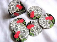Coin Purse, Floral, Model, Flowers, Scale Model, Flower, Models, Template