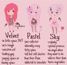 I'm pastel and sky CREDIT: @his.babylove