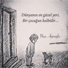 Dünyanin en güzel yeri bir çocuğun kalbidir.   - Neşe Ağaoğlu   (Kaynak: Instagram - neseagaogluu)   #sözler #anlamlısözler #güzelsözler #manalısözler #özlüsözler #alıntı #alıntılar #alıntıdır #alıntısözler #şiir #edebiyat