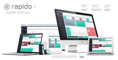 Rapido – Responsive Admin Dashboard Theme   http://themeforest.net/item/rapido-responsive-admin-dashboard-theme/8241494?ref=damiamio           Created: 18July14 LastUpdate: 8August14 Columns: 4+ CompatibleBrowsers: IE9 #IE10 #IE11 #Firefox #Safari #Opera #Chrome CompatibleWith: Bootstrap3.x Documentation: WellDocumented HighResolution: Yes Layout: Responsive ThemeForestFilesIncluded: HTMLFiles #CSSFiles #JSFiles Tags: FullCalendar #admin #admindashboardtemplate #admintemplate #adminthemes…