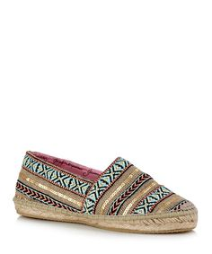 Alpargata multi-coloured espadrilles Sale - CARA LONDON