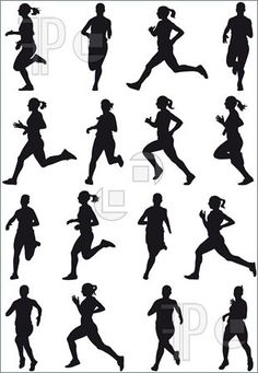 cross country running clip art | Cross Country Posters | CafePress ...