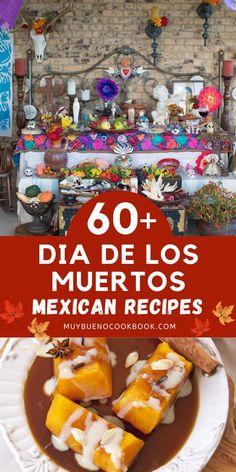 Want to involve your children in celebrating Dia de los Muertos with a craft or recipe to celebrate the occasion? Bueno Recipes, Good Food, Yummy Food, Delicious Dinner Recipes, Recipe Collection, Mexican Food Recipes, Delish, Food And Drink, Chicken