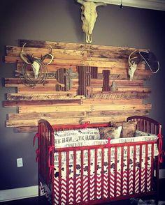 Ready to Ship Boy Crib Bedding - Brown Cowboy, Pony Minky, and Red Chevron, Cowboy Nursery Set Baby Boy Rooms, Baby Boy Nurseries, Baby Cribs, Rustic Baby Nurseries, Modern Nurseries, Kids Rooms, Crib Bedding Boy, Bedding Sets, Babies Rooms