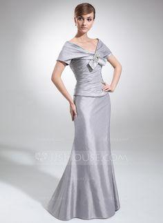 aba26a47ff74 Trumpet Mermaid Strapless Floor-Length Taffeta Mother of the Bride Dress  With Ruffle