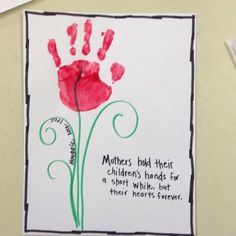 Kindergarten-Muttertag/Vatertag Hand Print Mothers Day Card Breast Enhancers Throughout history, wom Best Mothers Day Gifts, Mothers Day Crafts For Kids, Fathers Day Crafts, Mothers Day Cards, Easy Mothers Day Crafts For Toddlers, Mothers Day Poems, Mom Gifts, Daycare Crafts, Sunday School Crafts