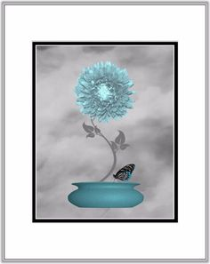 Teal Gray Wall Art Find this Pin and more on Syd Home Decor Wall