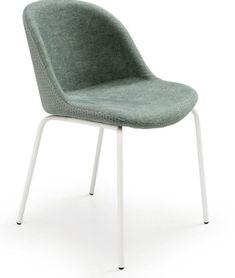 Gispen buisframe stoelen velvet Oker groen