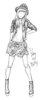 Ideas For Drawing Fashion Sketches Style
