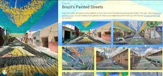 Painting the Streets- Why the 201 Brazil World Cup is set to be the most digital tournament yet. Brazil World Cup, Louvre, Social Media, Digital, Building, Painting, Eye, Breakfast Nook, Fortaleza