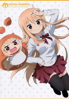 'Umaru-chan' Sticker by oxLeinadxo Himouto Umaru Chan, Kawaii Anime, Anime Warrior Girl, Japanese Festival, Comedy Anime, A Silent Voice, Jojo's Bizarre Adventure, Anime Characters, Cute Girls