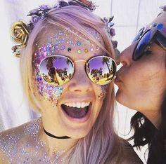 Glitter and jewels