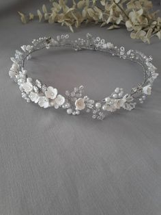 Floral Crown Wedding, Romantic Wedding Hair, Bridal Crown, Wedding Crowns, Wedding Veils, Boho Headpiece, Headpiece Wedding, Bridal Headpieces, Bolo Picnic