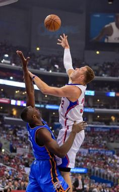 Blake Griffin : NBA playoffs: Western Conference, second round