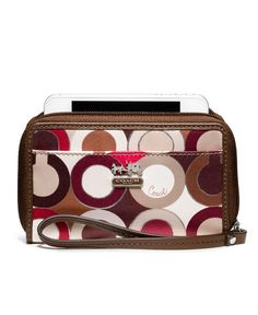 COACH MADISON GRAPHIC OP ART UNIVERSAL CASE - Coach Accessories - Handbags & Accessories - Macy's