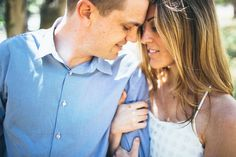 Monterey Engagement session.  Outdoors, oak trees.