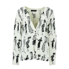 Women Casual Printed Cardigans Sweaters Ladies Poncho Pull Streetwear Sweater