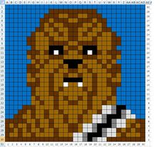 Gavins Star Wars Blanket - Star Wars Models - Ideas of Star Wars Models - A labour of love for my little guy! A very fun project to pick up in between other WIPs. All colours are Vannas Choice: Yoda: Beige White Chocolate Dusty Green Olive Black Sil Crochet Pixel, Star Wars Crochet, Crochet Stars, C2c Crochet, Crochet Blanket Patterns, Crochet Roses, Crocheted Flowers, Kids Crochet, Crochet Animals