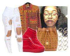 """""""💋"""" by eazybreezy305 on Polyvore featuring MCM, Vans, ASOS, cute, simpleoutfit, Trendy and 2016"""