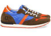 Blauwe D.A.T.E. schoenen Boston #sneaker