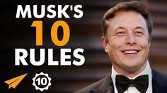 Elon Musk's Top 10 Rules For Success (@elonmusk)