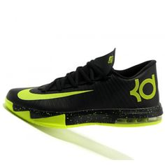 3f6a00664b3b Nike KD6 Kevin Durant Fluorescent Black history Basketball shoes outlet  BX319085 New Jordans Shoes