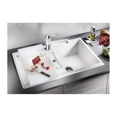 Set drezu a batérie Blanco Metra 45 S cm antracit Sink, Bathtub, Kitchen, Design, Home Decor, Sink Tops, Standing Bath, Vessel Sink, Cucina