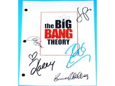 The Big Bang #Theory Signed Pilot Script TV #Autograph Jim Parsons, #Johnny Galec,  View more on the LINK: http://www.zeppy.io/product/gb/3/213601304/