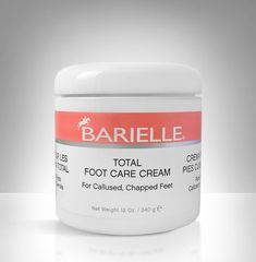 Made for sensitive skin, Barielle's Total Foot Care Cream does not contain any ingredients that cause skin peeling like acids or camphor, so your rough feet get soft, callus-free and healthy the safe way.