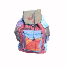 Shop for Multicolored Jute Backpack (Nepal). Free Shipping on orders over $45 at…