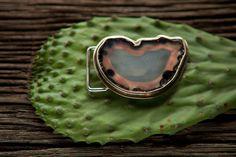Agate Slice in Bronze  michelletilley.com