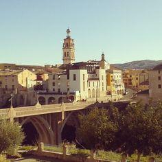 La ciudad vista desde el barrio de San Rafael