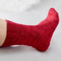 Ravelry: Hearts Afire Socks pattern by Babs Ausherman