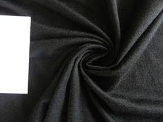 1.7m Black Onyx 100% Merino Jersey Knit 160g – New Zealand Merino and Fabrics
