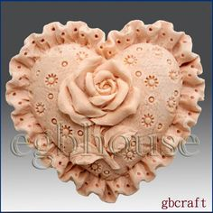 2D Silicone Guest Soap/Candle Mold - Ruffled Rose Pillow -FREE SHIPPING -Buy from original designer - Say no to copy cats by egbhouse on Etsy https://www.etsy.com/listing/100036159/2d-silicone-guest-soapcandle-mold