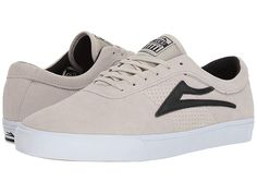 76c83b08029243 Lakai Sheffield (White Black Suede) Men s Shoes. For those that are always