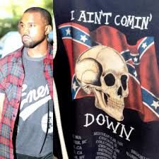 Kanye's Confederate flag clothes - Google Search. Co-Opts the symbol!