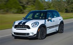 I'll be having these stripes installed on President's Day. :) Mini Cooper Stripes, Funny Looking Cars, Hot Pink Cars, 2011 Mini Cooper, Car Dates, Hello Kitty Car, Citroen Car, Mini Countryman, First Drive