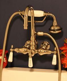 European Classic Clawfoot Tub Faucets