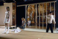Hedda Gabler - Staatstheater Saarbrücken  | Christoph Diem 2009 Scenography Theatre, Hedda Gabler, Set Design Theatre, Stage, Scenery, Design Inspiration, Stage Design, Theater, Landscape