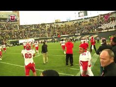 Clips from the Utah Football vs Colorado game on 11/23/12
