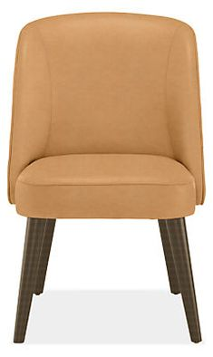 Cora Chair in Leather - Modern Dining Chairs - Modern Dining Room Furniture - Room & Board