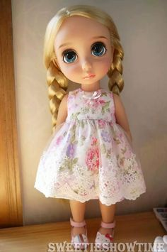 Disney Baby doll clothes Lace Dress Princess clothing Animator's collection FW #STDesign #ClothingAccessories