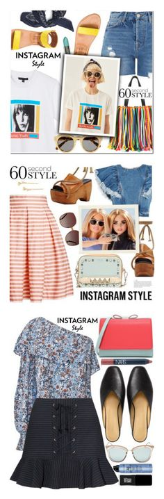 """""""Winners for 60-Second Style: Insta-Ready"""" by polyvore ❤ liked on Polyvore featuring Front Row Shop, Topshop, K. Jacques, Emilio Pucci, BP., Uslu Airlines, STELLA McCARTNEY, 60secondstyle, PVShareYourStyle and Rumour London"""