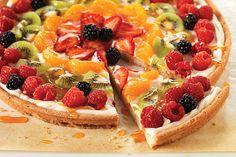 Pizza PHILADELPHIA con frutas