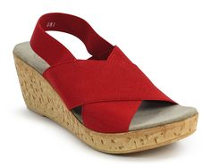 104ad666279 Med Red Sandal - Holly   Brooks Charleston Shoes