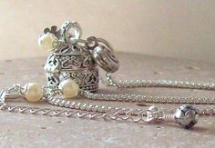 Wish Box Prayer Box Necklace